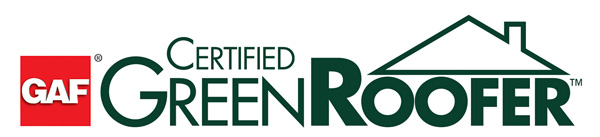 GAF Certified Green Roofer Logo