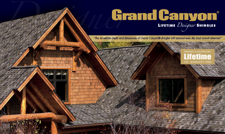 GAF Grand CanyonⓇ Designer Shingles