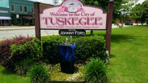 City of Tuskegee, AL Welcome Sign