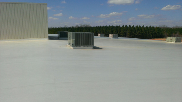 Commercial TPO Low-Slope Roof in Valley, AL
