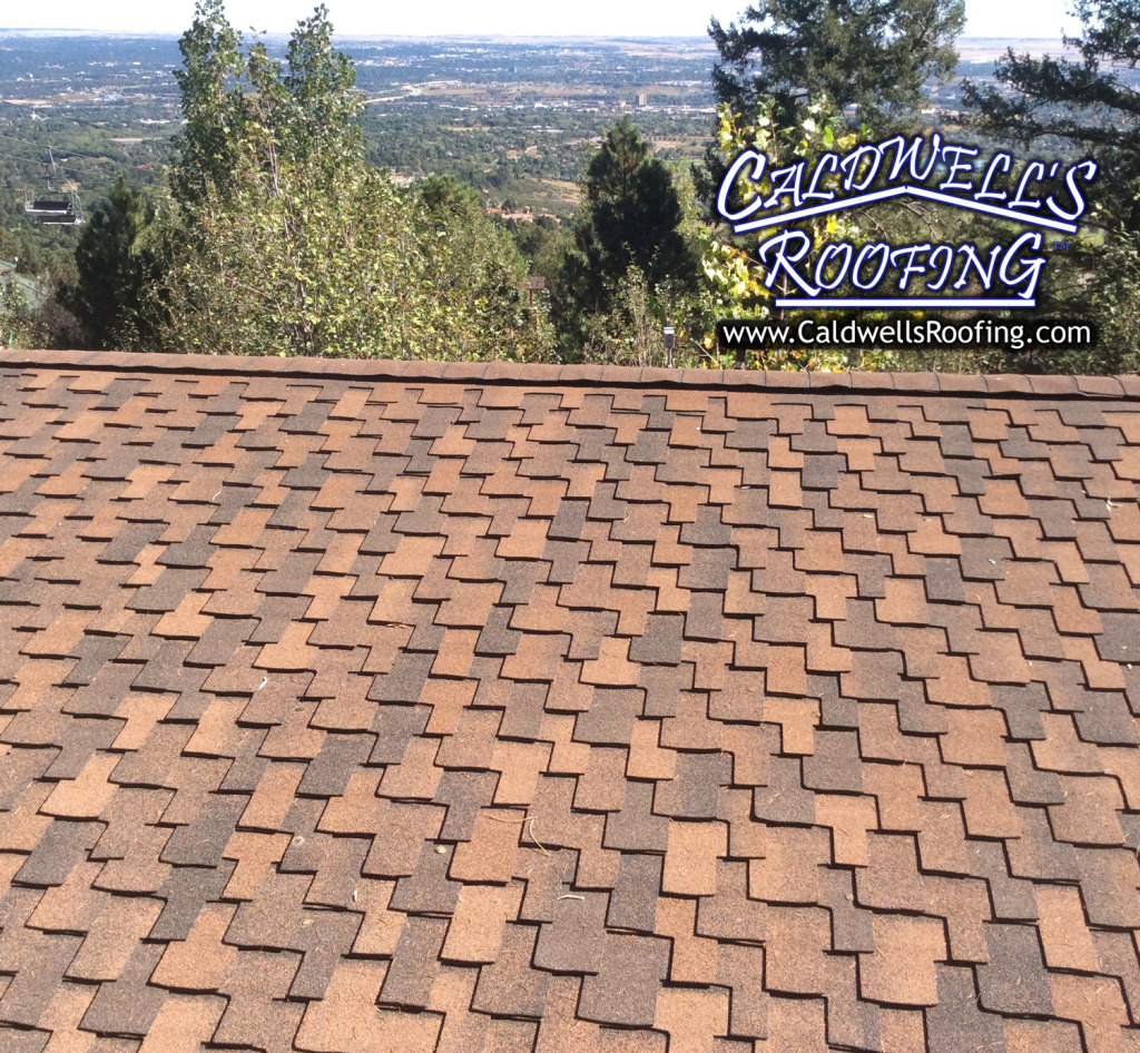 Asphalt Roof Shingle Types - Designer Style (Possibly Grand Canyon® by GAF®)