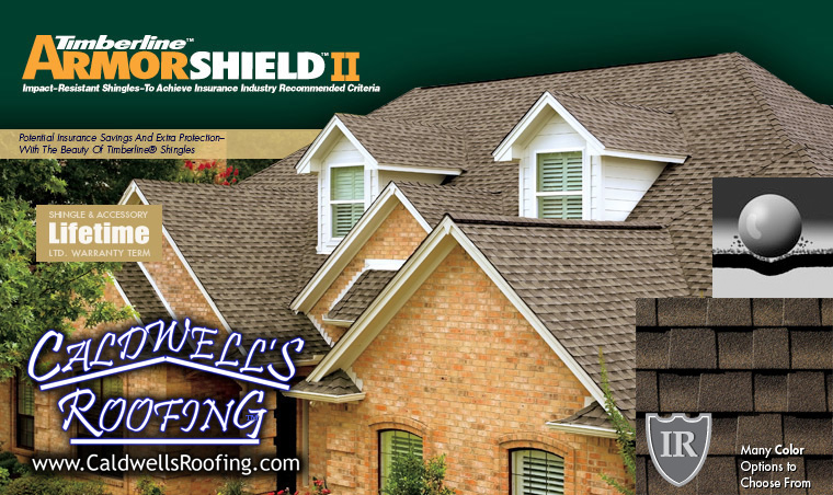 Asphalt Roof Shingle Types - Specialty Shingles (GAF® Armor Shield™ II Impact Resistant Shingles)