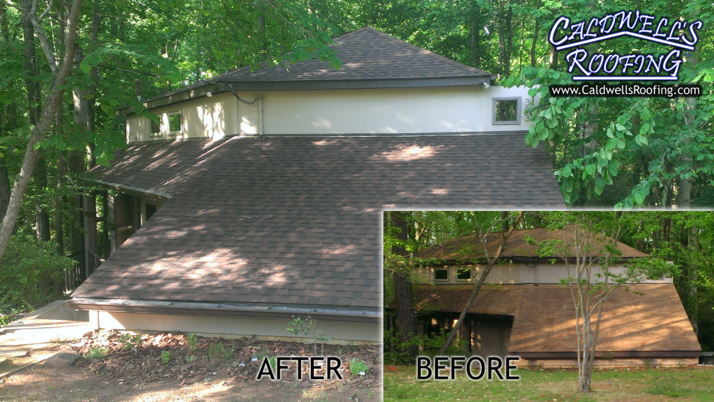 Residential Roofing Photos: Illustration of Importance of Roof Maintenance