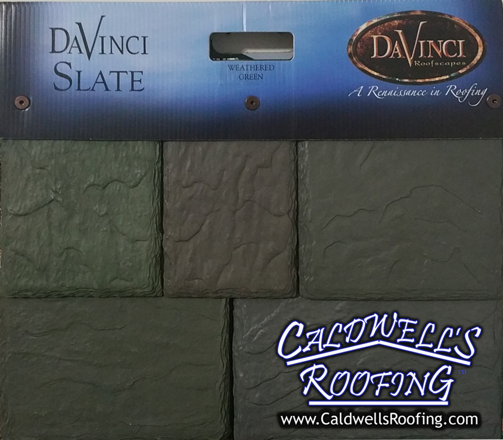 Caldwell's Roofing Installs DaVinci Synthetic Slate