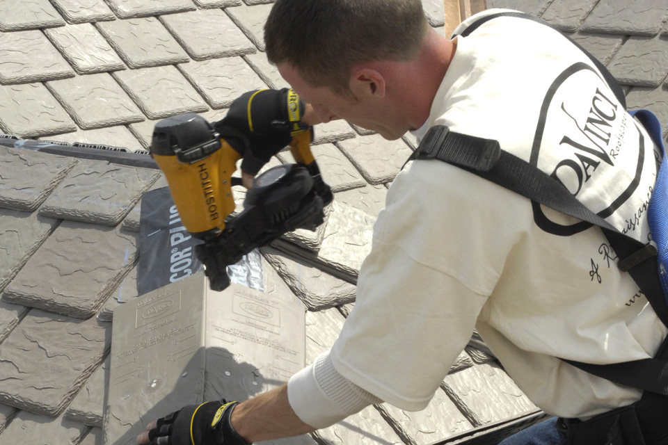 Caldwell's Roofing Offers and Installs DaVinci Synthetic Slate