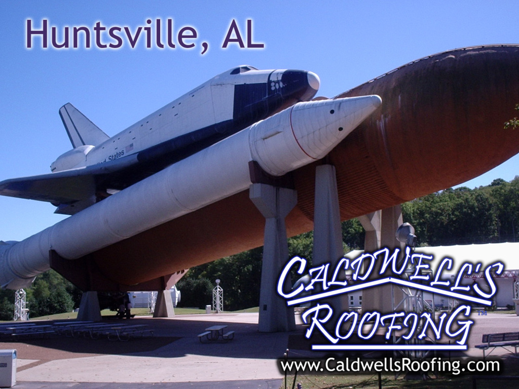 Caldwell's Roofing Provides Huntsville AL Roofing Service ($1,000 Minimum Job Cost)