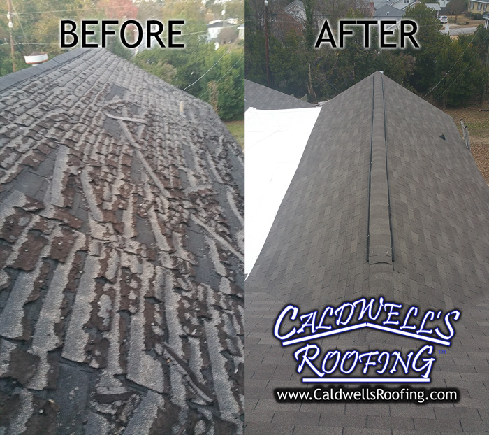 Before/After - Shingle Re-Roof