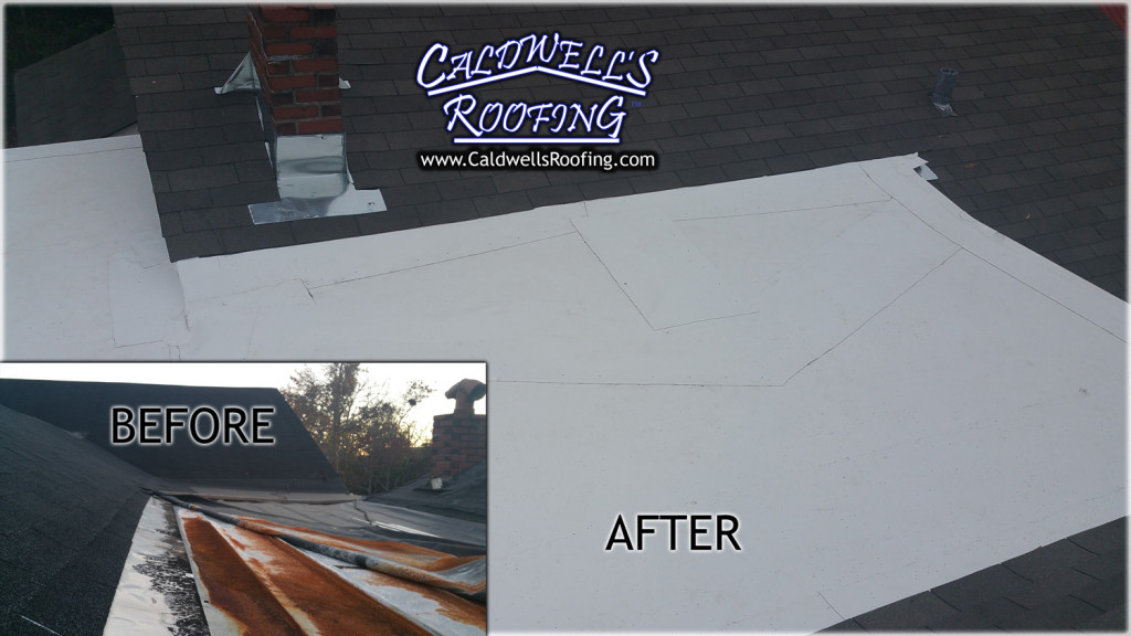 Tackling a Steep-Slope/Low-Slope Roof - Before and After