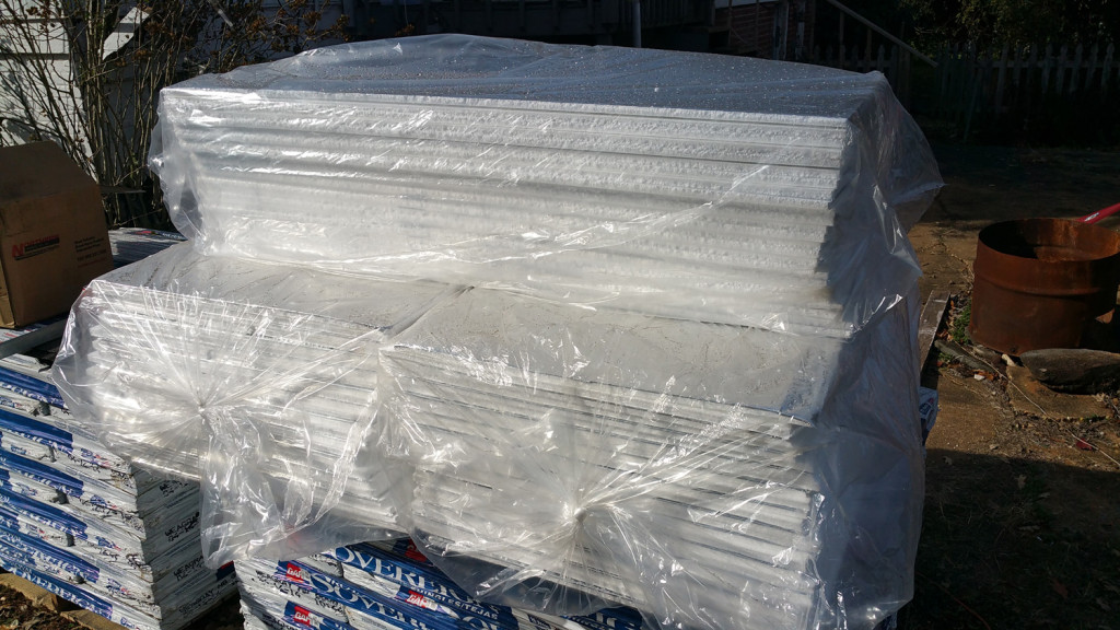 """1/2"""" """"Fan-Fold"""" Insulation as the Separation Sheet between OSB Decking and TPO"""