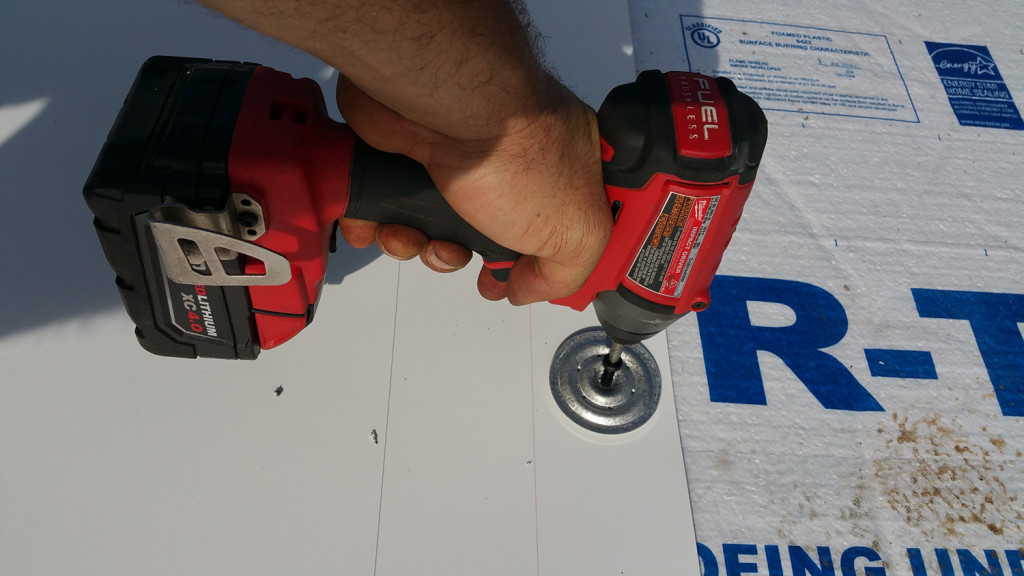 Installing TPO on a Low-Slope Roof (Mechanically Attached Method)