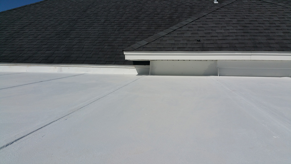 GAF TopCoat Roof Repairs Finished