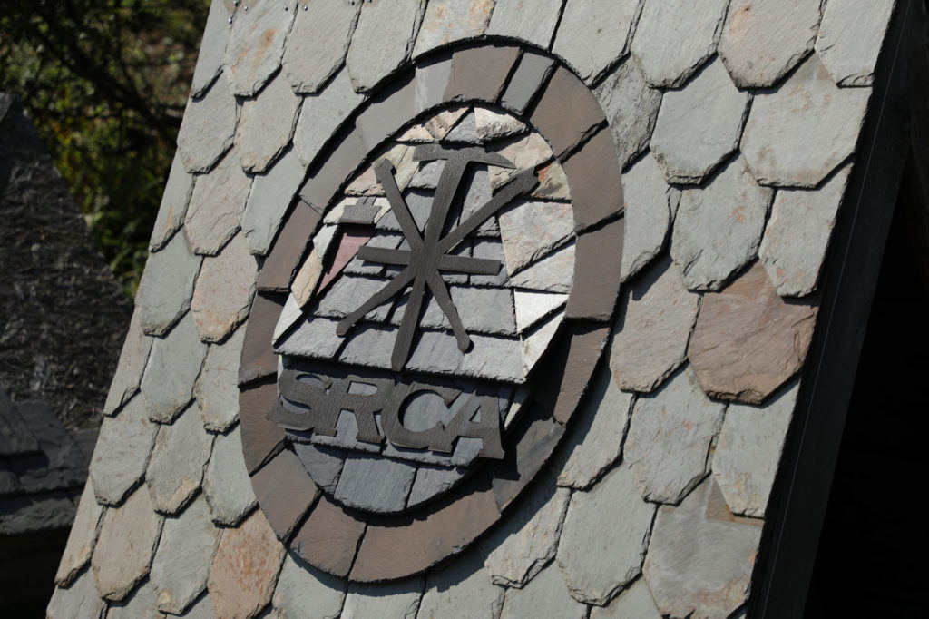 SRCA Logo in Quarried Slate