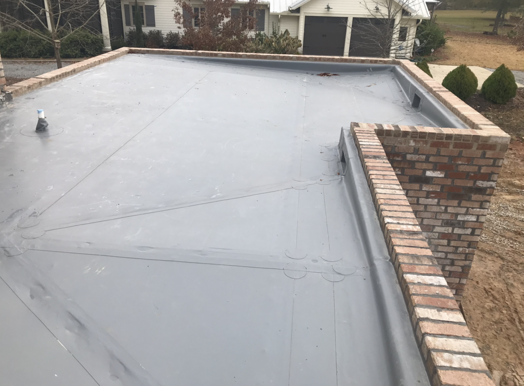 Grey IB PVC Roof in Pike Road AL